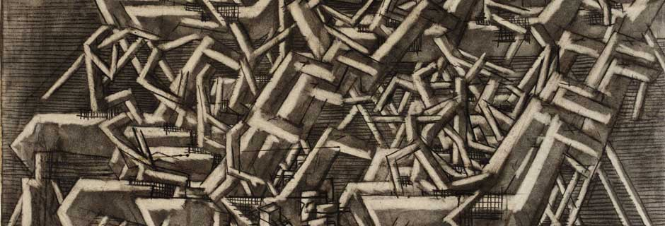 Racehorses by David Bomberg